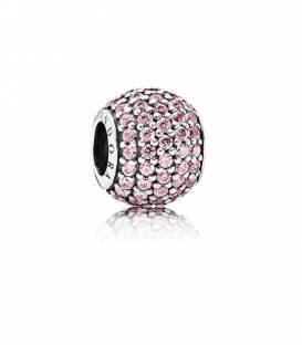 Charm pavé rosa 791051PCZ