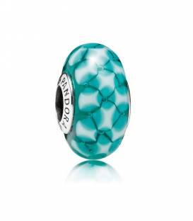 Charm cristal Celosía azul 791625