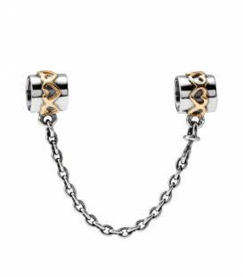 Charm cadena de seguridad Corazones 790307-05