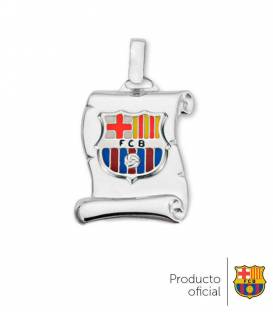 Colgante pergamino FC Barcelona