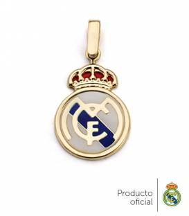 Colgante Real Madrid oro 18k