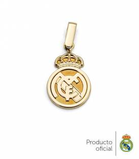 Colgante Real Madrid oro 18k