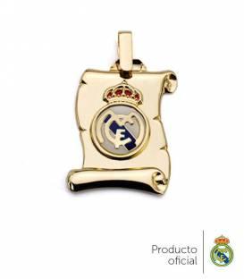 Colgante pergamino Real Madrid