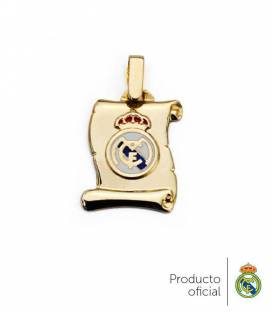 Colgante pergamino Real Madrid