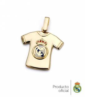 Colgante camiseta Real Madrid