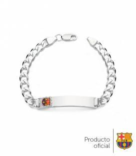 Esclava plata de ley FC Barcelona