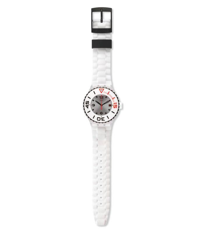 Reloj Swatch Blanca SUUK401