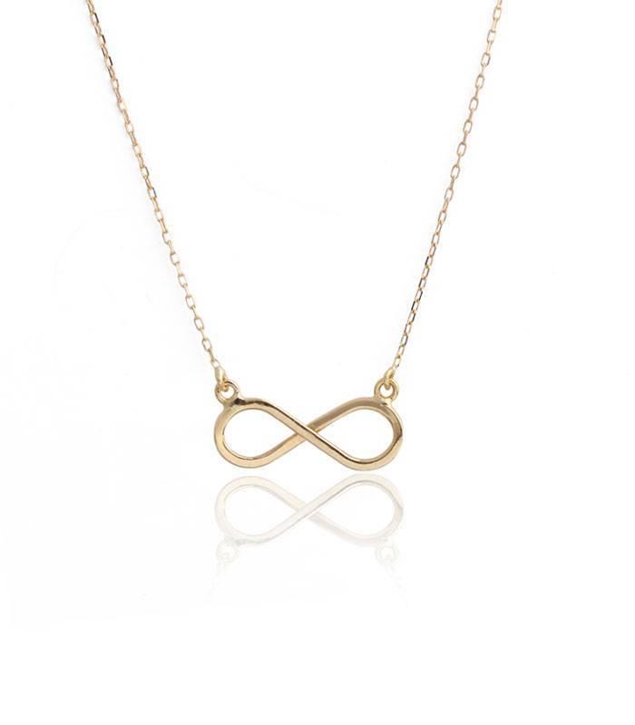 654533350cf0 Colgante oro 18k infinito con cadena