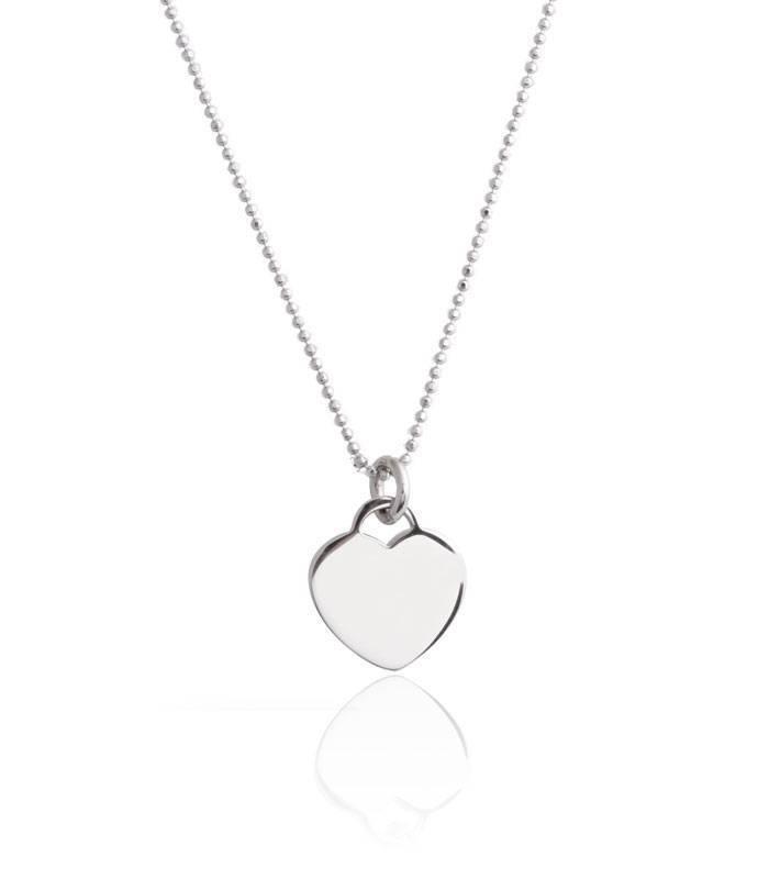 02bc21e8edcc Colgante plata de ley Corazón