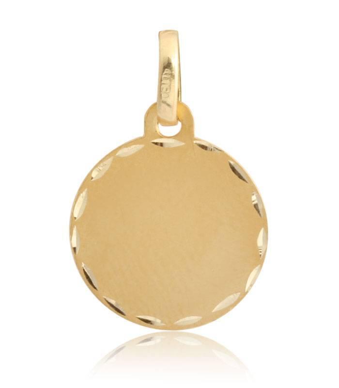 Medalla oro 18 quilates