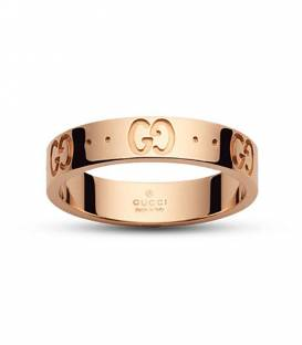 Anillo Gucci Icon Oro rosa 18k