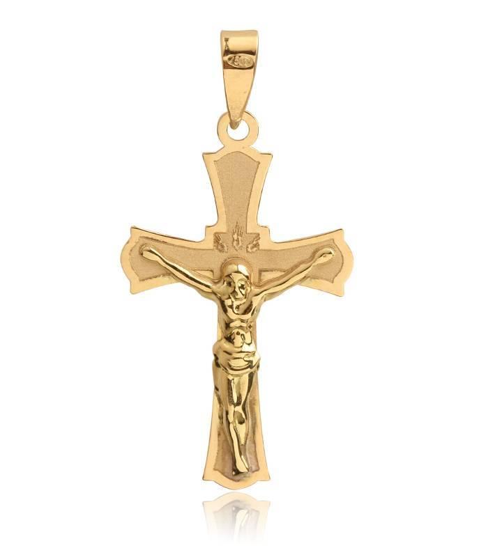 Cruz grande Oro 18k con Cristo