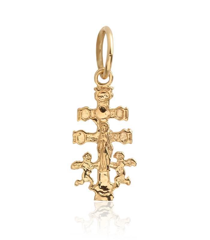 Cruz de Caravaca de Oro 18k