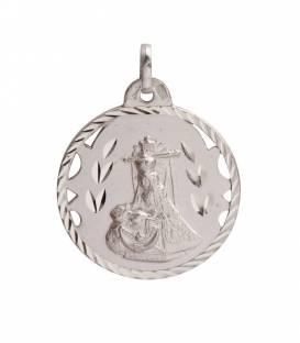 Medalla Grande Plata Virgen de las Angustias