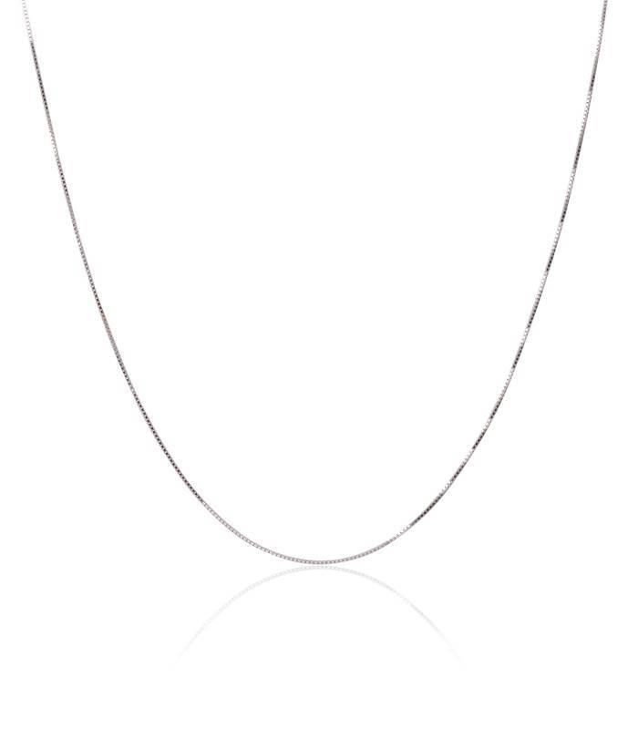 Cadena Oro blanco 18k Veneciana