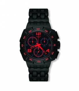 Reloj Swatch Black Dunes Red SUIB408