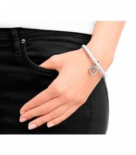 Pulsera Swarovski Braided Leather Charm 5113904