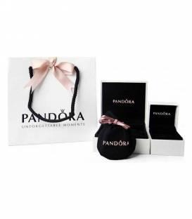 Pulsera PANDORA Sencilla trenzada de cuero negro 590705CBK-S1