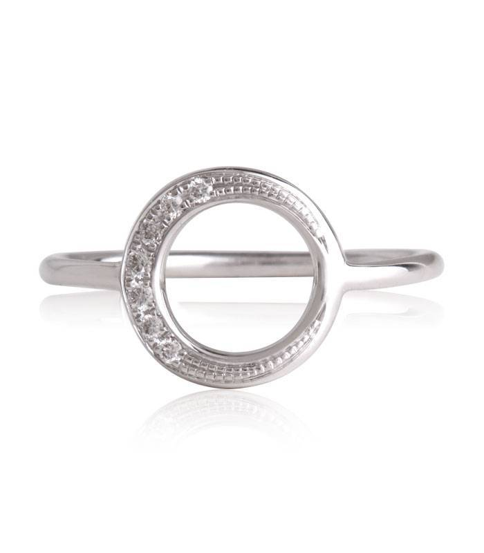 "Anillo ""LIFE ´Circle"" Con Diamantes Oro 18k"
