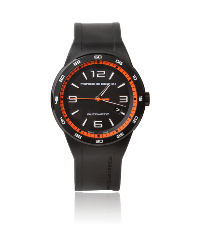 Reloj porsche Dasboard orange