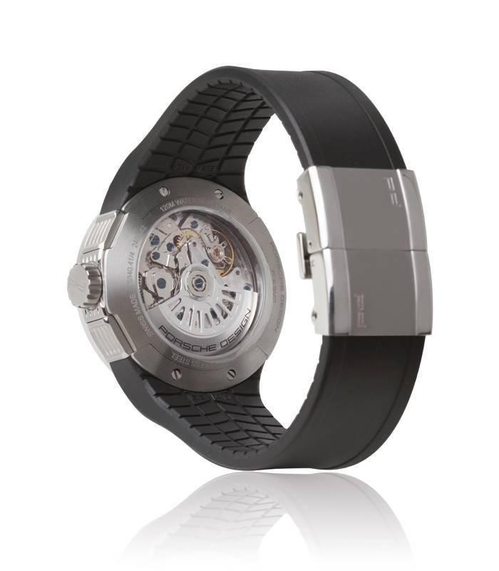 Reloj Porsche Flat Six Crono Negro
