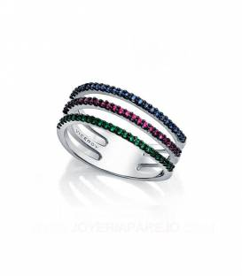 Anillo Viceroy Tricolor 7063A014