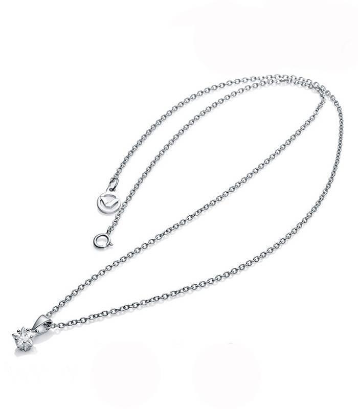 Collar Plata Circonita 21008C000
