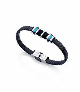 Pulsera Viceroy Azul y negro 6337P09013