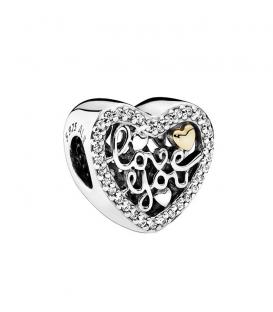 Charm Pandora Amor Grabado 792037CZ