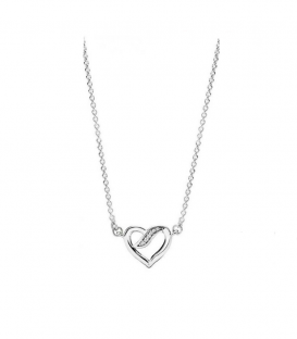 Collar Pandora Lazos de Amor 590535CZ