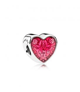 Charm Corazón en latín 792048EN117