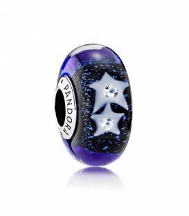 Charm cristal de Murano Cielo Estrellado 791662CZ
