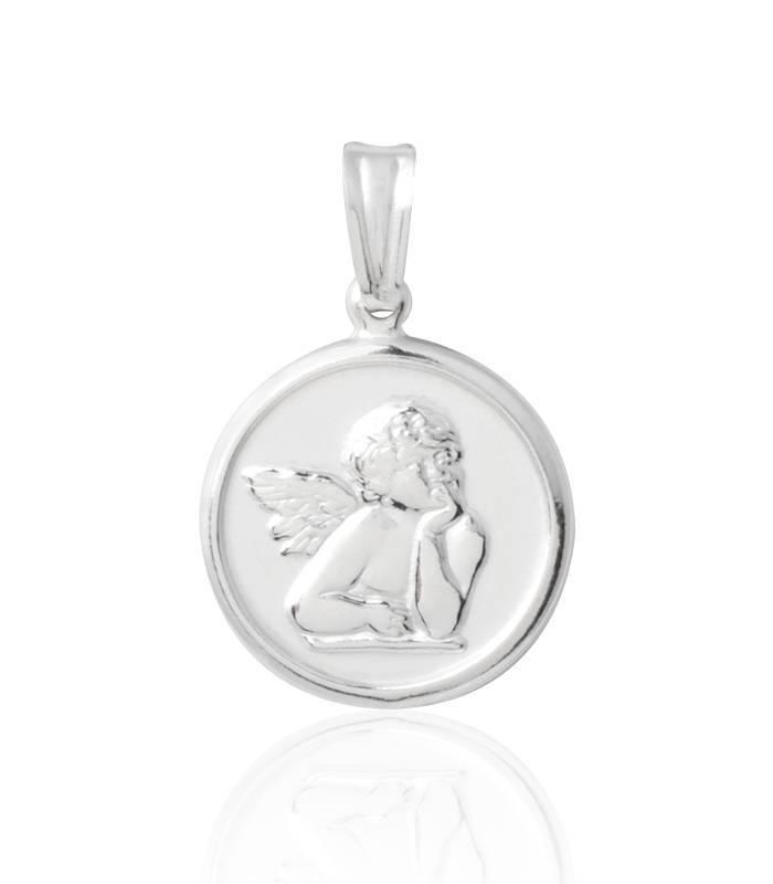 92845bb25f89 Medalla Ángel Burlón Plata de Ley