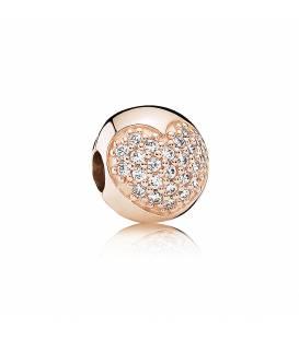 Clip Pandora Rose Corazón 781053CZ