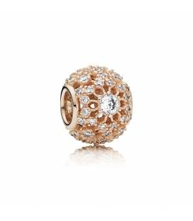 Charm en filigrana Pandora Rose Brillo Interior 781370CZ