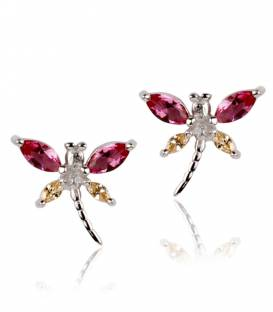 "Pendientes Mariposa ""Lively"" Rosa"