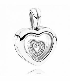 Charm colgante Locket Corazón 792111CZ