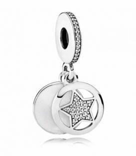 Charm colgante en plata de ley Estrella de la Amistad 792148EN23