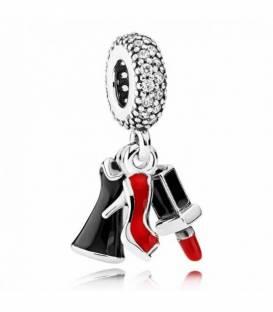 Charm colgante en plata de ley Trío de Glamour 792156ENMX