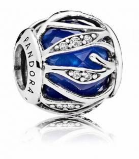 Charm en plata de ley Naturaleza Radiante Azul 791969NCB