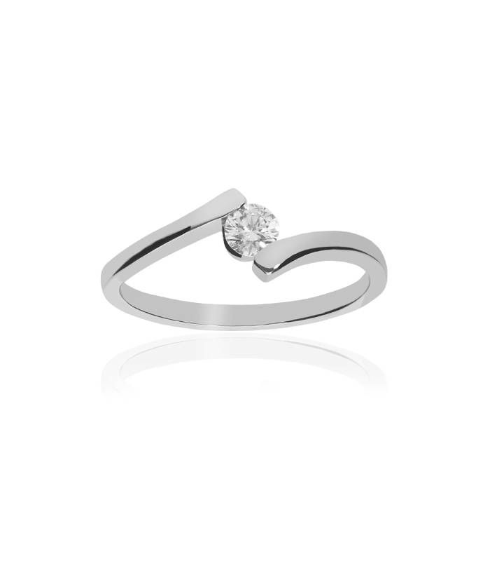 Solitario Diamante 0,20 cts
