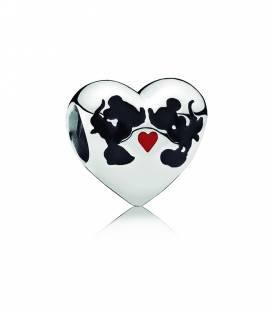 Charm Pandora Beso de Minnie & Mickey 791443ENMX