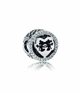 Charm Pandora Amor Minnie & Mickey 791957CZ