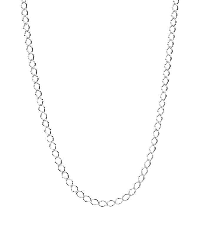 """Cadena """"Silen"""" en Plata de Ley 50cm"""