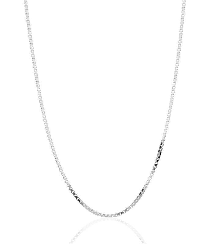 """Cadena """"Lissa"""" en Plata de Ley 45 cm"""