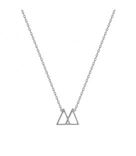 Collar Plata PDPAOLA Silver CO02-028