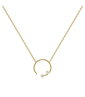 Collar Plata PDPAOLA Vela Gold CO01-057