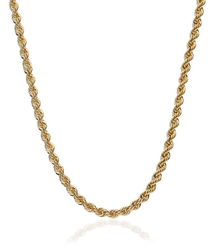 Cordón Salomónico Oro 18k. 60cm
