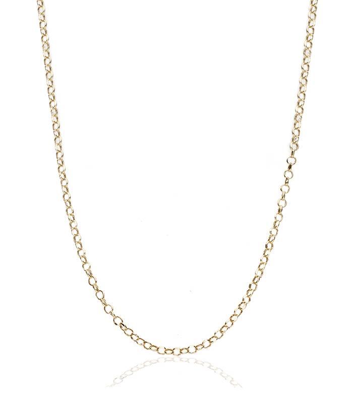 Cadena Eslabón Redondo Oro 18k. 45cm