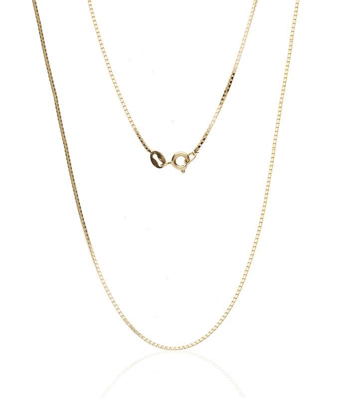 Cadena Veneciana Oro 18k. 50cm